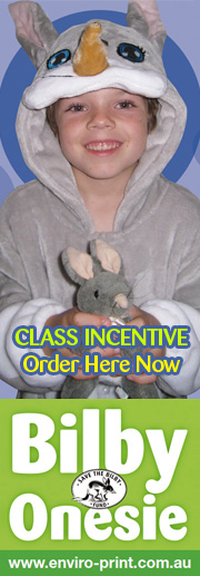 Class Incentive Order Bilby Onesie Here